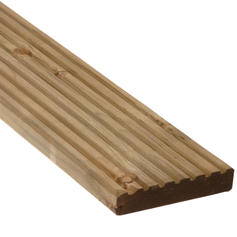 Deck kits softwood deck kit 243232 departments diy at b q for Garden decking kits b q