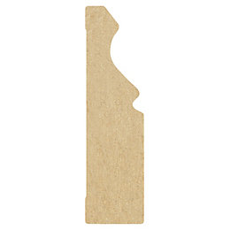 MDF Mouldings Foil Wrapped Architrave (T)18mm (W)69mm (L)2100mm,