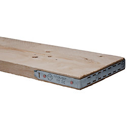Scaffold Board Timber (T)38mm (W)225mm (L)1800mm