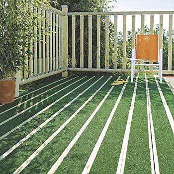 Grassedeck board in a garden