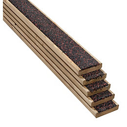 Walksure Softwood Deck Board (T)28mm (W)120mm (L)2100mm, Pack