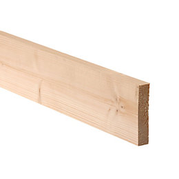 Smooth Planed Timber (T)18mm (W)94mm (L)1800mm Pack of