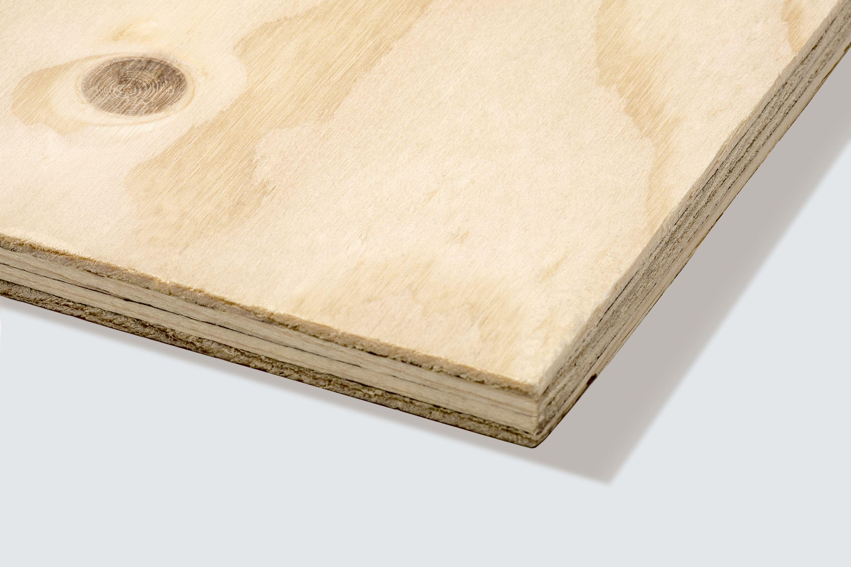 Spruce plywood sheet th mm w l