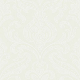 Opus Merletto Cream Damask Trail Wallpaper
