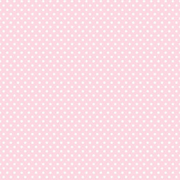 Holden Décor Pink & White Polka Dots Wallpaper