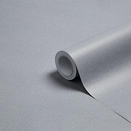 K2 Jute Grey Texture Wallpaper