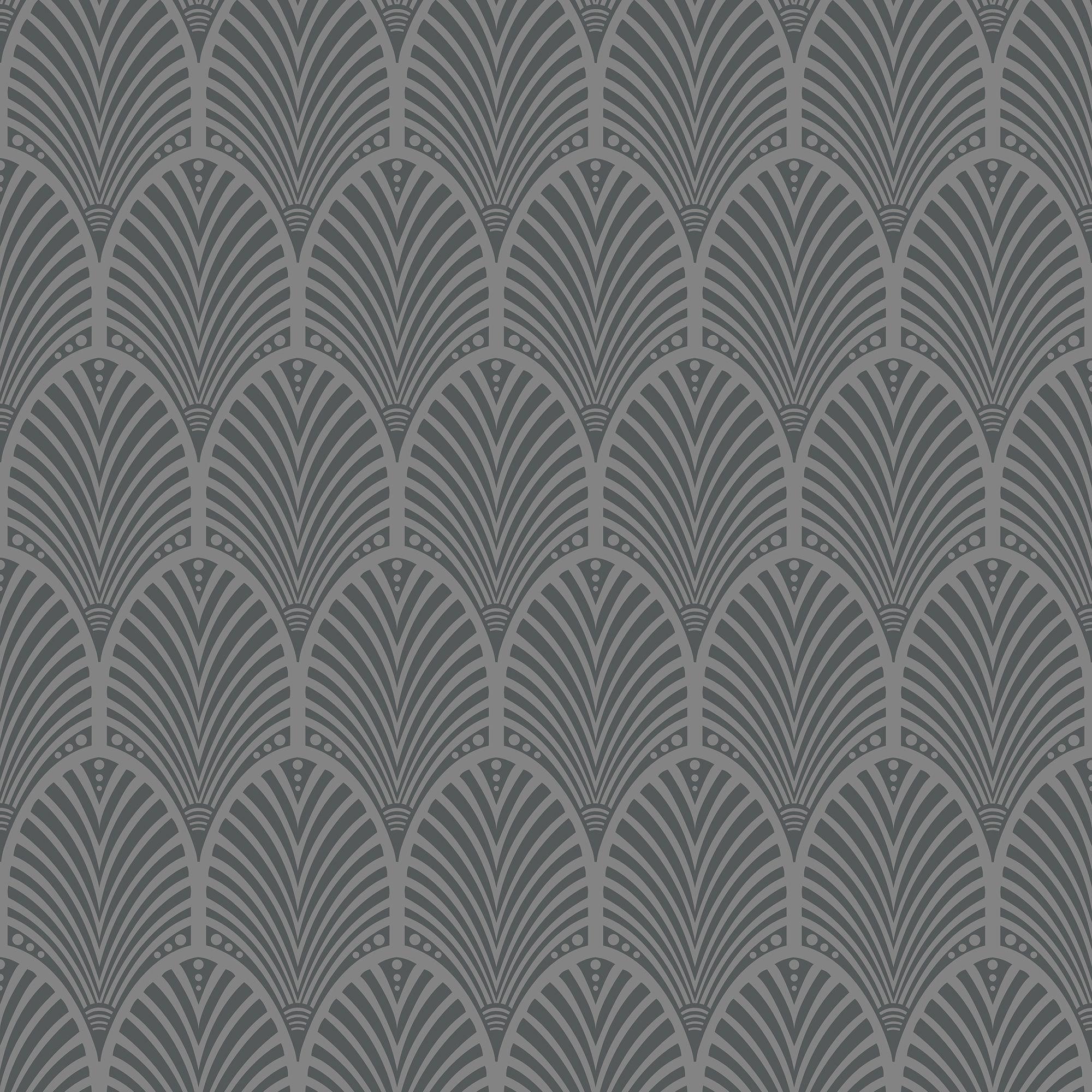 Diy at b q for Grey patterned wallpaper