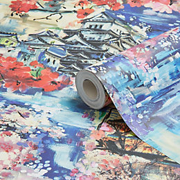 Statement Yoshino Oriental Wallpaper