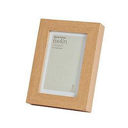 Oak Effect Wood Picture Frame (H)20cm x (W)15cm