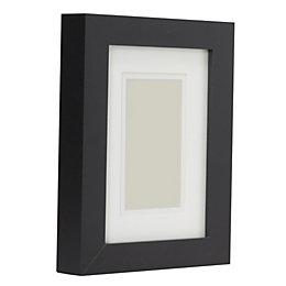 Black Wood Picture Frame (H)22cm x (W)17cm