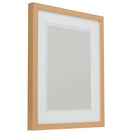 Oak Effect Wood Picture Frame (H)54cm x (W)44cm