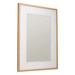 Oak Effect Wood Picture Frame (H)104cm x (W)74cm