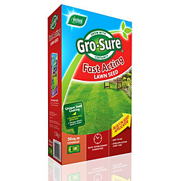 Gro-Sure Fast Acting Lawn Seed 1.6kg