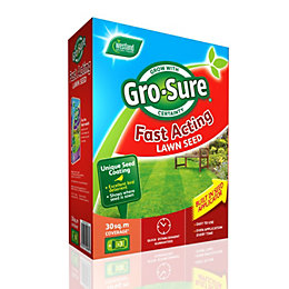 Gro-Sure Fast Acting Lawn Seed 1.1kg