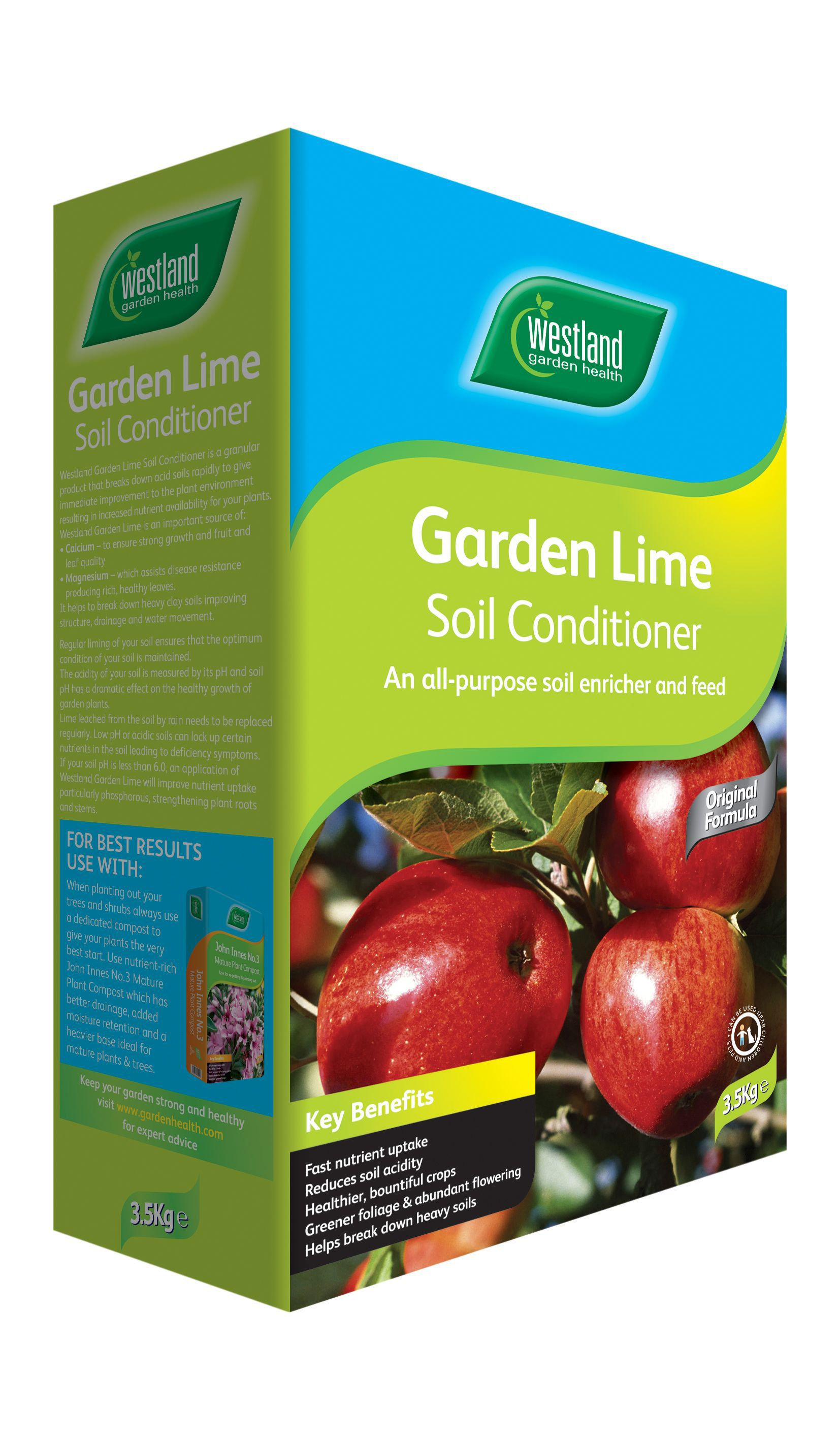 westland garden lime granular soil conditioner. Black Bedroom Furniture Sets. Home Design Ideas