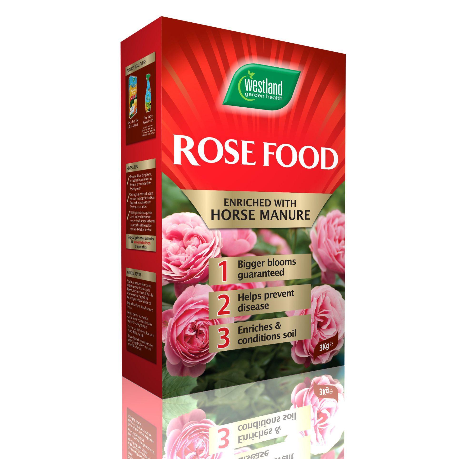 Westland rose food with horse manure 3kg departments for Diy rose food