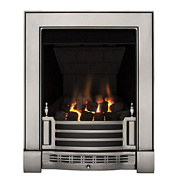 Finsbury Multi Flue Satin Chrome Effect Manual Control