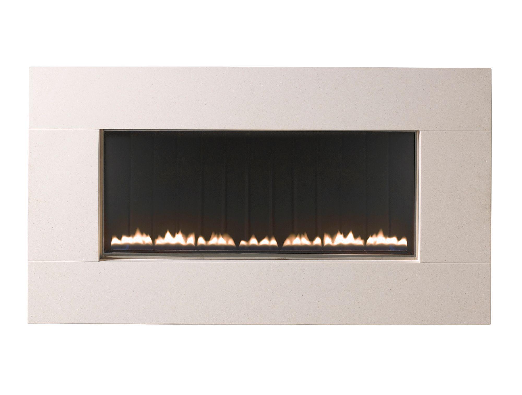focal point memoir limestone manual control wall hung gas fire