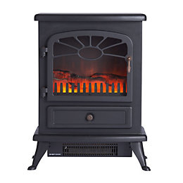 Focal Point Es2000 Black Freestanding Electric Stove