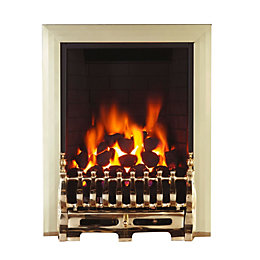 Blenheim Black Remote Control Inset Gas Fire