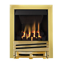 Focal Point Horizon Multi Flue Brass Manual Control