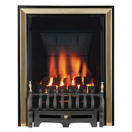Focal Point Classic Multi Flue Black & Brass