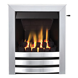 Langham Multi Flue Chrome Effect Slide Control Inset