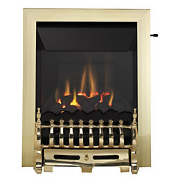 Blenheim High Efficiency Brass Effect Slide Control Inset