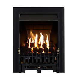 Focal Point Blenheim Multi Flue Black Remote Control