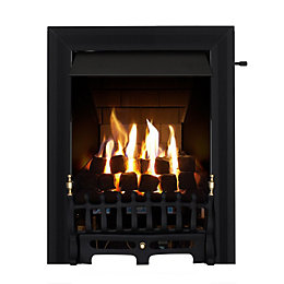 Focal Point Blenheim Multi Flue Black Slide Control