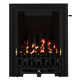 Blenheim Full Depth Black Slide Control Inset Gas