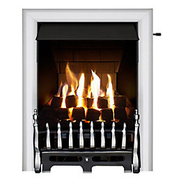 Blenheim Multi Flue Chrome Effect Slide Control Inset