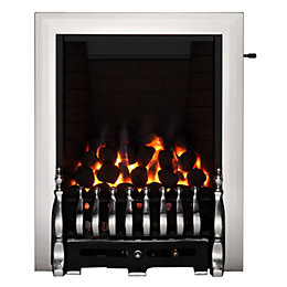Blenheim Chrome Effect Slide Control Inset Gas Fire