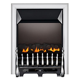 Blenheim Flue Less Chrome & Black Effect Manual