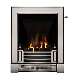 Finsbury Multi Flue Satin Chrome Effect Slide Control