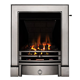 Soho Multi Flue Satin Chrome Effect Slide Control