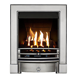 Soho Multi Flue Satin Chrome Effect Remote Control