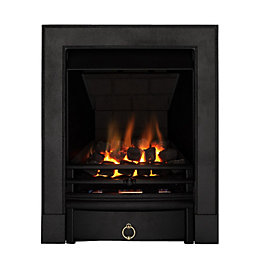 Focal Point Soho Multi Flue Black Remote Control