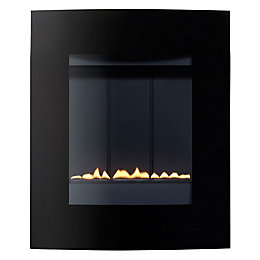 Ebony LPG Black Manual Control Wall Hung Gas