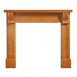 Durham Solid Pine Fire Surround