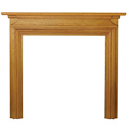 Charlottesville Oak Veneer MDF Fire Surround