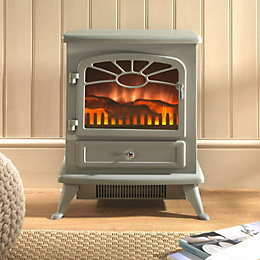 Es 2000 Grey Electric Stove