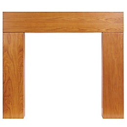 Wichita Oak Veneer Oak MDF Fire Surround