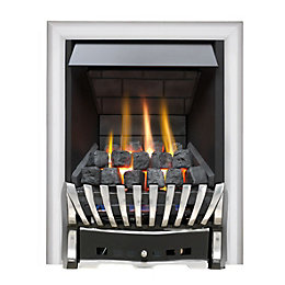 Elegance Multi Flue Chrome & Black Effect Remote