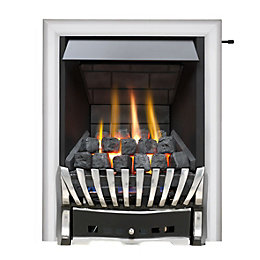 Elegance Multi Flue Chrome & Black Effect Slide