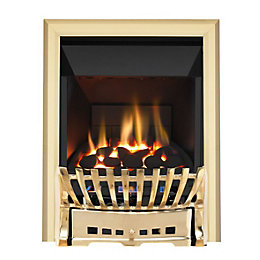 Elegance High Efficiency Brass Manual Control Inset Gas