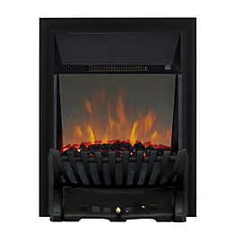 Focal Point Elegance Black LED Reflections Electric Fire