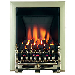 Blenheim Multi Flue Brass Effect Manual Control Inset