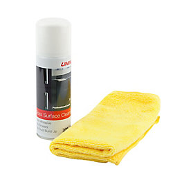 Unika Gloss Cleaner & Microfibre Cloth Aerosol, 200