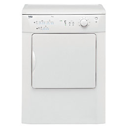 Beko DRVT61W White Freestanding Vented Tumble Dryer